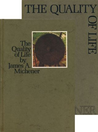 The Quality of Life. James A. Michener
