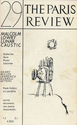 The Paris Review #29 Winter Spring 1963. Lawrence Durrell, Henry Miller, Robert Pack, Elizabeth...
