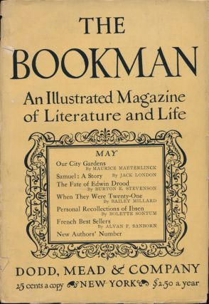 Samuel: a Story The Bookman, May 1913. Jack London