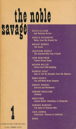 """And Hickman Arrives"" (Ellison) In the Noble Savage 1. Ralph Ellison, John Berryman, Arthur..."