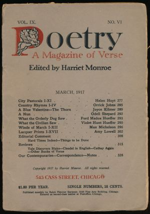 Poetry: a Magazine of Verse March, 1917