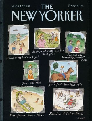 The New Yorker: June 12, 1989. Julian Barnes, Julian Kumin, Edith Oliver, Andrew Porter, Mark...