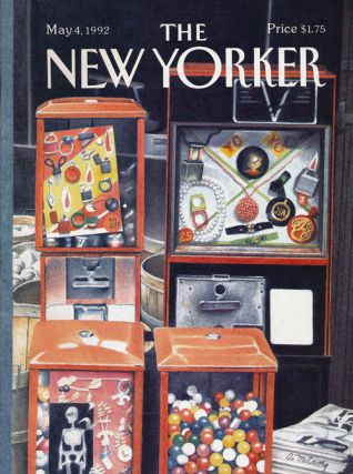 The New Yorker: May 4, 1992. Julian Barnes, Antonya Nelson, Joseph Brodsky, Mark Strand, Andrew...