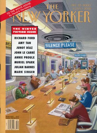 The New Yorker: December 25, 2000 and January 1, 2001 The Winter Fiction Issue. Julian Barnes,...