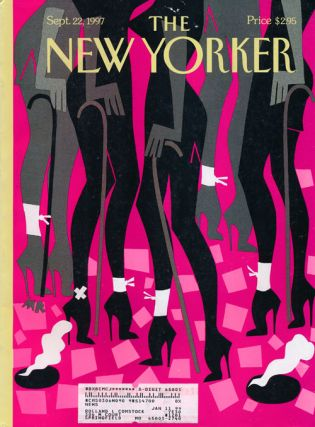 The New Yorker: September 22, 1997. Julian Barnes, David Denby, Kurt Anderson, Steve Martin, Zoe...