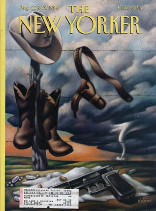 The New Yorker: August 22 and 29, 1994. Julian Barnes, Peter Boyer, Calvin Tomkins, William...