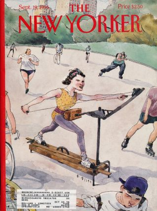 The New Yorker: September 19, 1994. Julian Barnes, Ian Buruma, James Atlas, William Finnegan, Etc