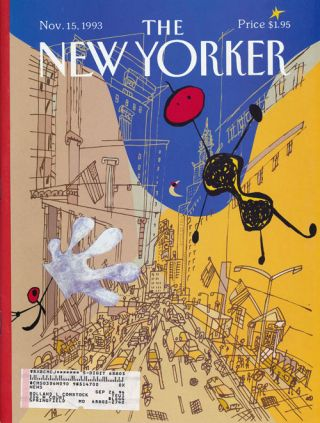 The New Yorker: November 15, 1993. Julian Barnes, Andy Logan, Susan Orlean, Alan Sternberg, Etc