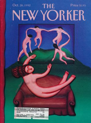 The New Yorker: October 26, 1992. Julian Barnes, Calvin Tomkins, Richard Preston, Tony Hiss,...