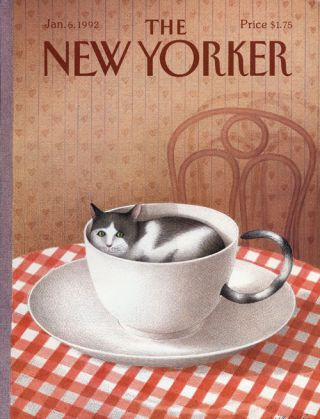 The New Yorker: January 6, 1992. Julian Barnes, Tom Drury, Charlie Smith, Thom Gunn, Louis...