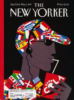 The New Yorker: April 28 and May 5, 1997. Julian Barnes, Clive James, Derek Walcott, Anthony...