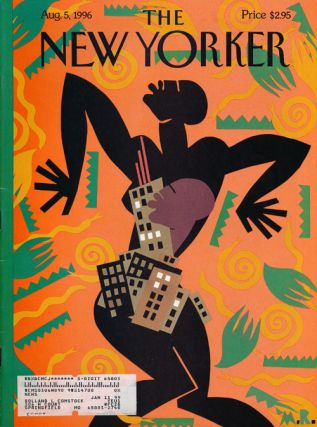 The New Yorker: August 5, 1996. Julian Barnes, Joseph Epstein, John Updike, Anthony Lane, Etc