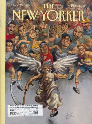 The New Yorker: November 13, 1995. Julian Barnes, Mary Anne Weaver, Adam Gopnik, Anthony Lane,...