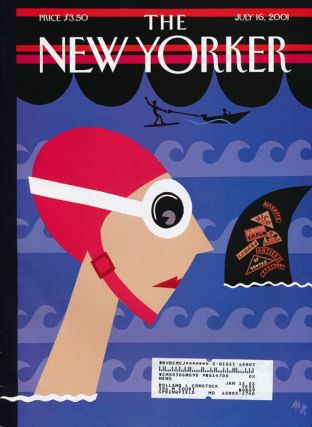 The New Yorker: July 16, 2001. Julian Barnes, Mark Singer, Salman Rushdie, Peter Hessler, Malcolm...