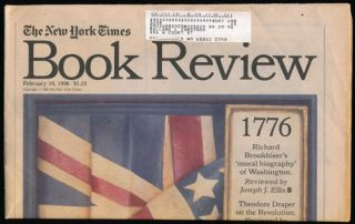 The New York Times Book Review February 18, 1996. Madison Smartt Bell