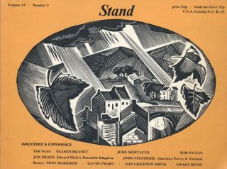 Stand, Volume 19, No. 2 Incorporating Three Arts Quarterly and the North East Arts Review. Seamus...