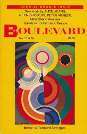 Boulevard Vol. 5 No. 3 & Vol. 6 No. 1 Spring 1991. Mark Doty, David Shapiro, David Ignatow, Tom...