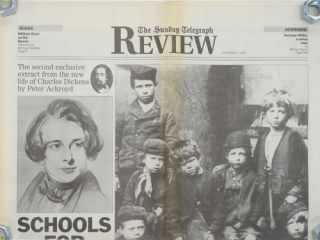 """Schools for Scandal""--The Second Extract from Ackroyd's Life of Dickens The Sunday Telegraph..."