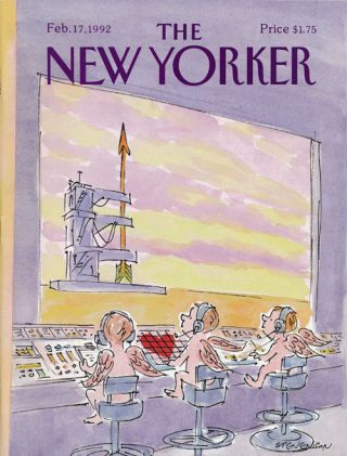 The New Yorker, February 17, 1992. Charlie Smith, Tom Drury, Marshall Frady