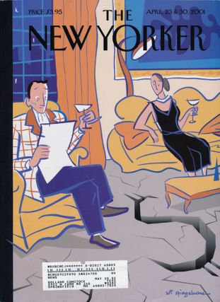 The New Yorker, April 23 & 30, 2001 The Money Issue. Jonathan Franzen, Desmond Barry, Margaret...
