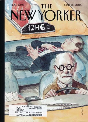 The New Yorker, May 23, 2005. Jonathan Franzen, Calvin Tomkins