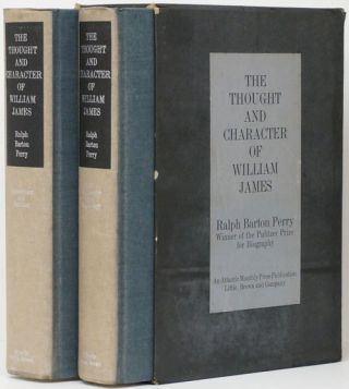 The Thought and Character of William James (Two Volume Set) As Revealed in Unpublished...