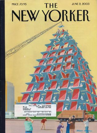 The New Yorker, June 2, 2003. Gao Xingjian, John Updike, Adam Hochschild, W. S. Merwin, Robert...