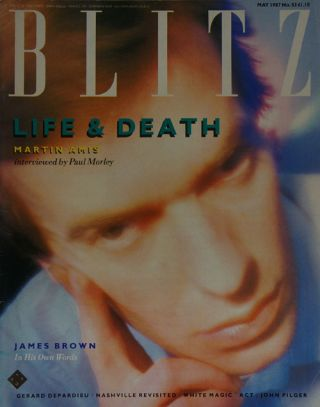 Blitz May 1987, No 53. Martin Amis