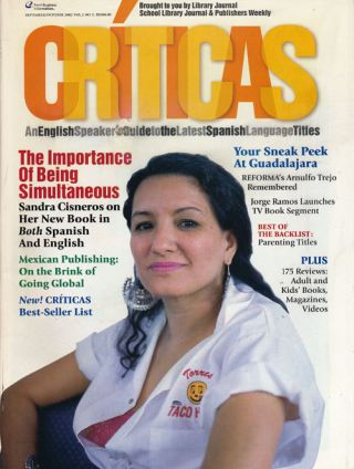 Criticas, September-October 2002 An English Speaker's Guide to the Latest Spanish Language...