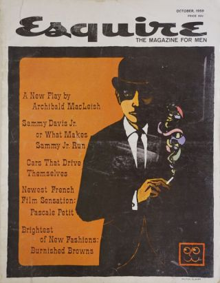 Esquire, October 1959 Volume LII, No. 4, Whole No. 311. Archibald MacLeish, Chester Himes,...