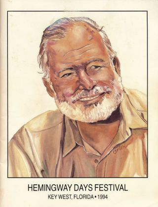 Hemingway Days Festival Program Key West, Florida 1994