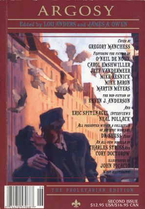 Argosy Magazine Second Issue, 2004. Lou Anders, James A. Owen