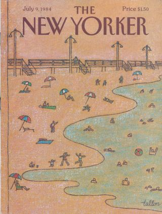 The New Yorker, July 9, 1984. Seamus Heaney, John Updike