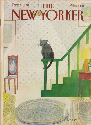 The New Yorker, December 8, 1980. Mark Helprin, George Steiner