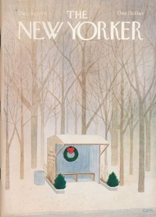 The New Yorker, December 10, 1979. Mark Helprin, James Wright