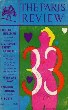 The Paris Review 33 Winter-Spring 1965. George Plimpton, Lillian Hellman, R. V. Cassill, Janet...