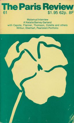 The Paris Review 61 Volume 16, Number 61, Spring 1975. George Plimpton, Bernard Malumud, Philip...