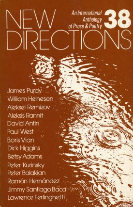 New Directions 38 An International Anthology of Prose and Poetry. James Laughlin, Lawrence...