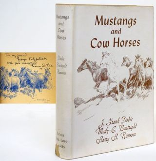 Mustangs and Cow Horses