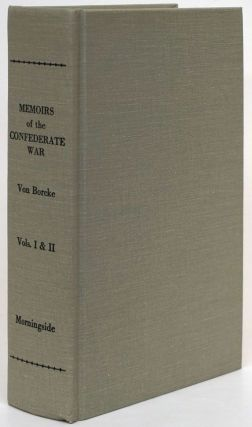 Memoirs of the Confederate War for Independence Volumes I and II. Heros Von Borcke