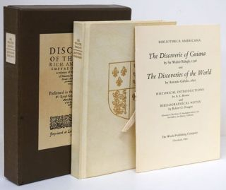 The Discoverie of Guiana and the Discoveries of the World. Sir Walter Ralegh, Antonio Galvao