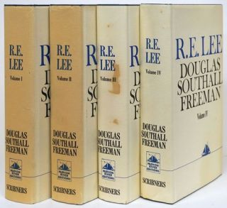 R. E. Lee A Biography. Douglas Southall Freeman