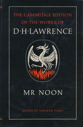 Mr Noon. D. H. Lawrence