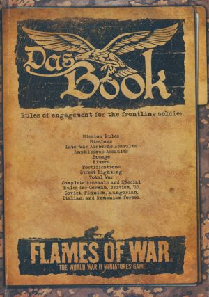 Flames of War: Das Book Rules of Engagement for the Frontline Soldier. Casey Davies