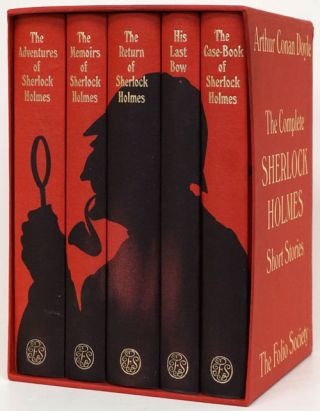 The Complete Sherlock Holmes Short Stories 5-Volume Set. Arthur Conan Doyle