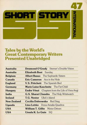 Short Story International 47, Volume 8, December 1984 Tales by the World's Great Contemporary...
