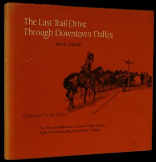 The Last Trail Drive through Downtown Dallas