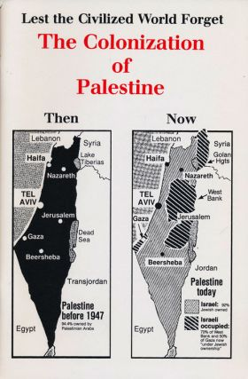 Lest the Civilized World Forget: the Colonization of Palestine. John F. Mahoney