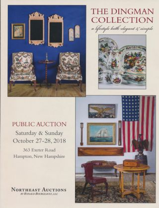 Northeast Auctions: the Dingman Collection Saturday & Sunday October 27-28, 2018. Ronald Bourgeault