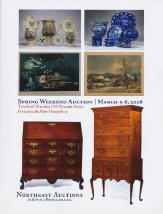 Northeast Auctions: Spring Weekend Auction, March 5-6, 2016, Treadwell Mansion, 93 Pleasant St,...
